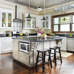kitchen island different color than cabinets vintage kitchen ideas