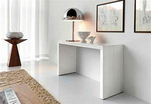 meuble console dentree table de lit With meuble pour entree moderne 9 console meuble et table console consoles de salon alinea