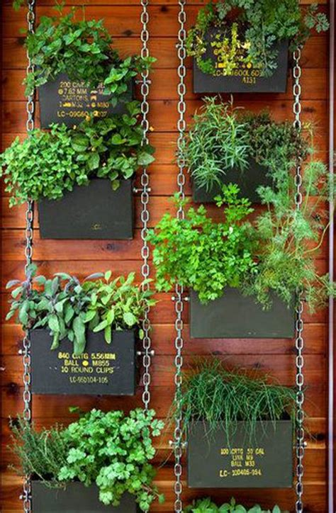 25 best ideas about hanging herb gardens on
