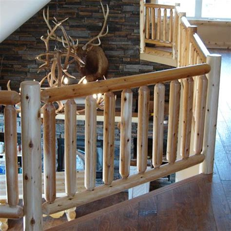 Log Railings