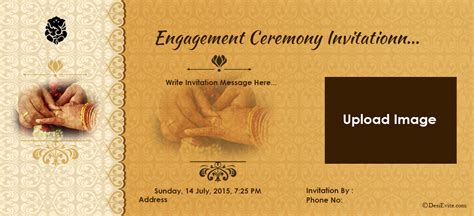 Free Online Engagement Invitation Cards