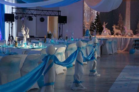 decoration salle de mariage decoration salle de mariage sur le theme de l hiver en blanc et turquoise mariage essonne