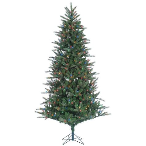 7 5 ft christmas tree with 1000 lights sterling 7 5 ft pre lit natural cut franklin spruce