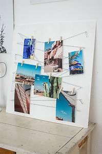 Pinnwand Selbst Gestalten : pinnwand diy fotoboard selbst gestalten ~ Lizthompson.info Haus und Dekorationen