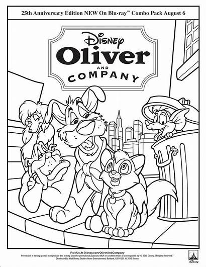 Coloring Disney Pages Sheets Ray Oliver Company
