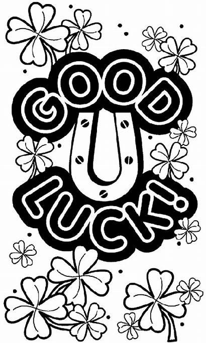 Luck Coloring Shamrocks Pages Crayola Sheets Patrick