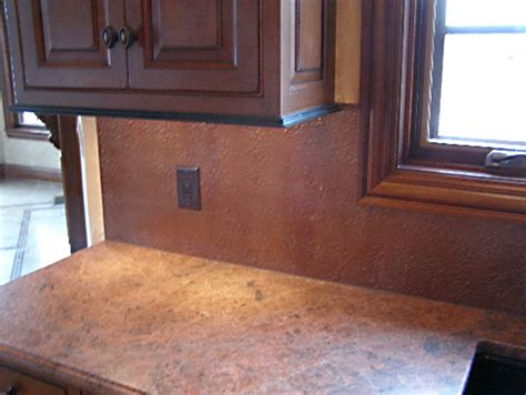 kitchen backsplash sheets copper sheets copper and stainless steel sheets for