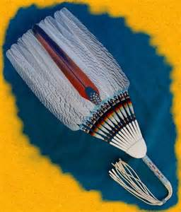 Native American Prayer Feather Fans