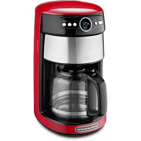 kitchenaid kcmer  cup glass carafe coffee maker