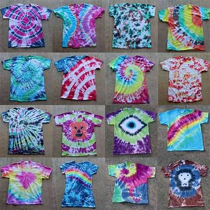 Dye Tie Patterns Different Projects Shapes Guide