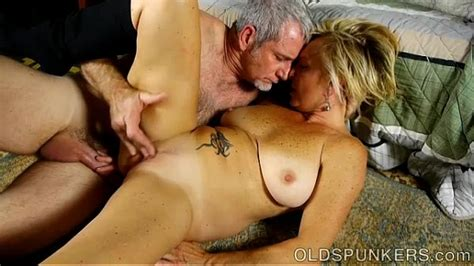 Saucy Old Spunker Is A Super Hot Fuck And Loves Sticky