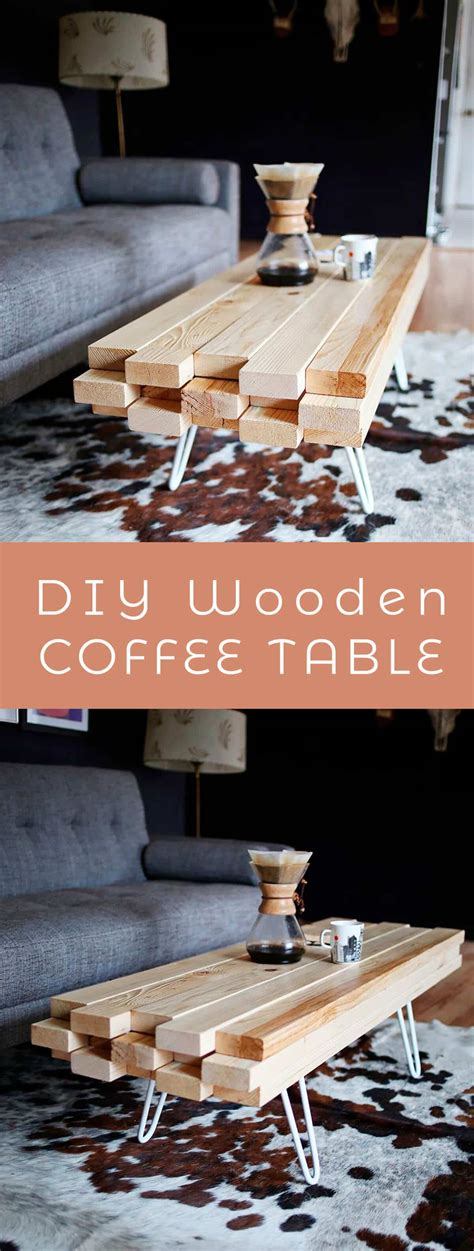 Pair it with a simple diy wood table top and you're set! DIY Wooden Coffee Table - A Beautiful Mess