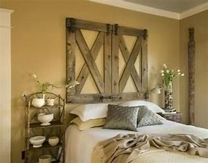 Rustic, Bedroom, Decor, Ideas