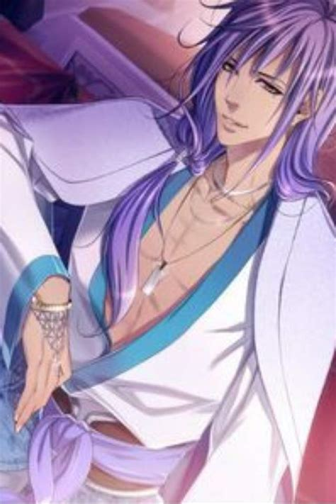 Image of posts tagged as animeprofilepicture picpanzee. Purple Anime Boy Hair | Wiki | Anime Amino