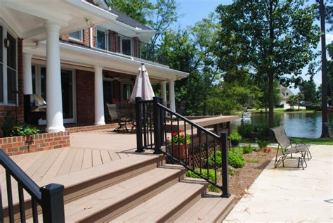 Deck Chapin by Lake Murray Sc Deck Builder Lake Murray Sc Trex Decks