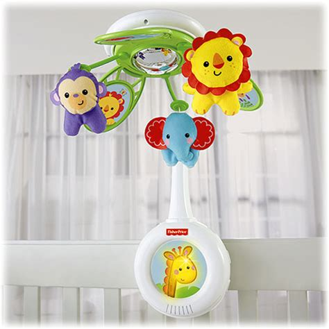 fisher price crib mobile rainforest friends musical mobile