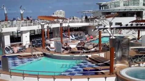 "Celebrity Cruises ""celebrity Summit"" Pool Deck Youtube"