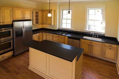 matte black kitchen cabinets kitchen countertop materials white cabinets black granite 7403