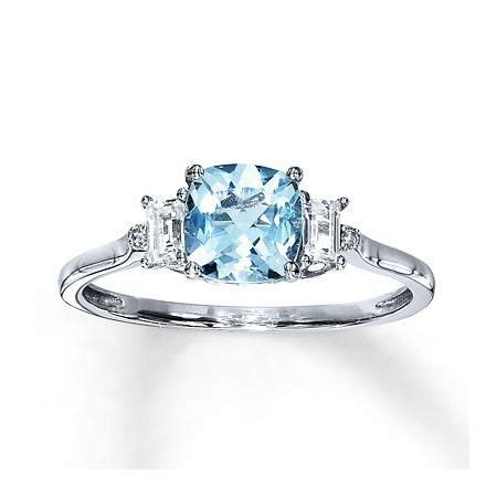 kay jewelers aquamarine ring  sapphires white gold aquamarine ring jewelry rings