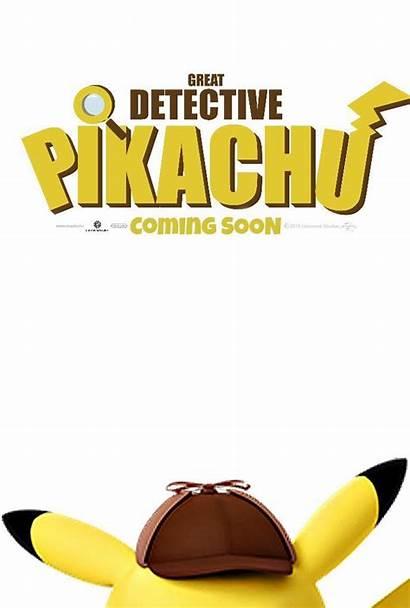 Pikachu Detective Movie Pokemon Poster Movies Film
