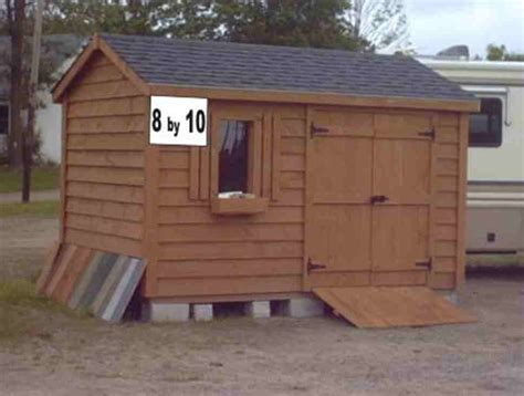 tractor utility shed 8 x 10 building plan 15012