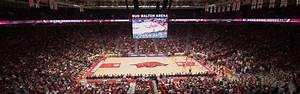 Bud Walton Arena Seating Chart Rows