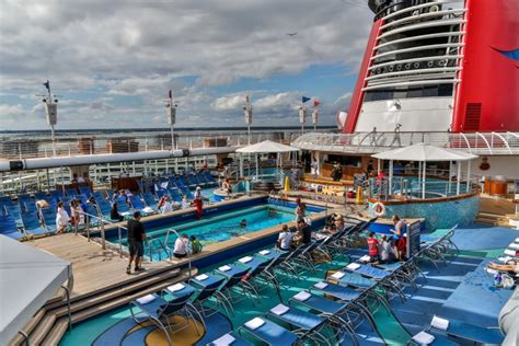 a walk around the disney magic cruise ship pools clubs theaters senses spa shutters