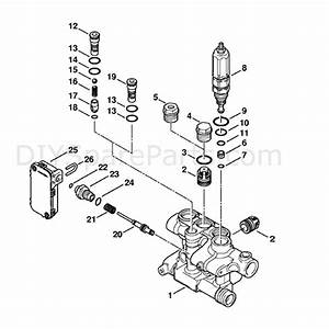 Stihl Re 271 Pressure Washer  Re 271  Parts Diagram  Valve