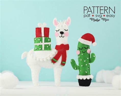 felt ornaments pattern christmas ornament felt pattern diy