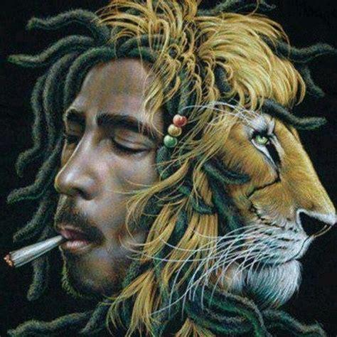 bob marley lion psychedelic jah bless pinterest bobs