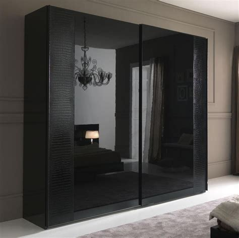 Big Wardrobe nightfly black 2 door big wardrobe armoires