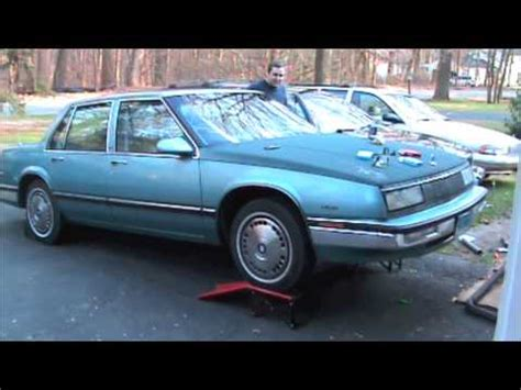 security system 1990 buick riviera navigation system 1987 buick lesabre exhaust sound open header youtube