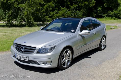 mercedes benz  class clc coupe  sale turnbull oliver