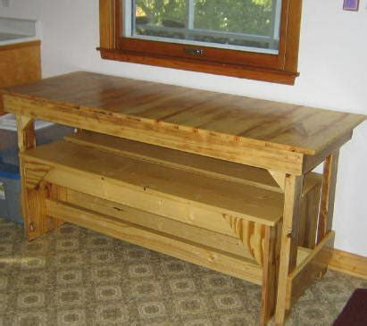 Free Kitchen Table Plans  Free Trestle Table Plans  How