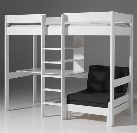 lit avec bureau lit superpose avec bureau