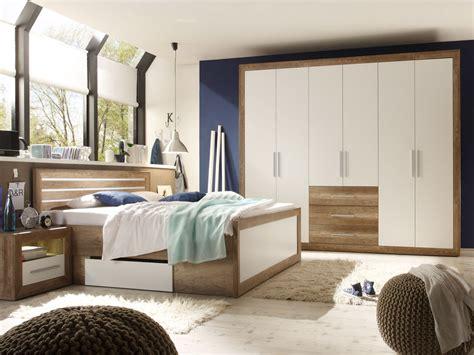 Weißes Schlafzimmer Komplett by Nando Komplett Schlafzimmer Oak Weiss