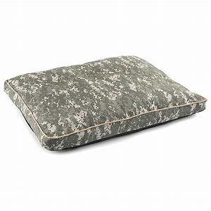 Military style us army dog bed camo 294125 kennels for Military dog bed