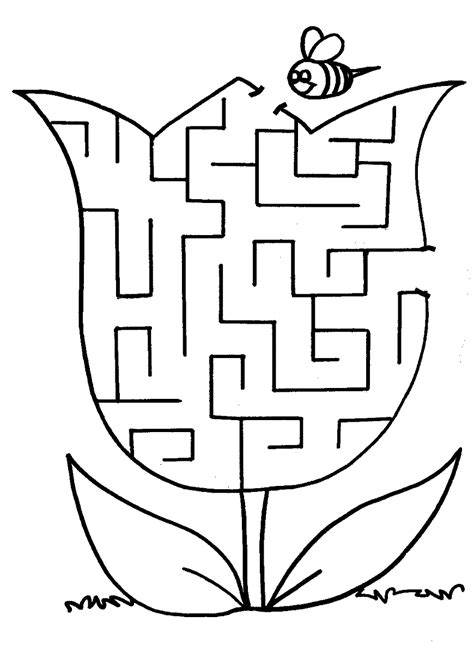 free maze worksheets printable kiddo shelter