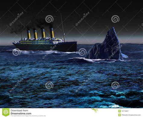 titanique photographie stock libre de droits image 19719967