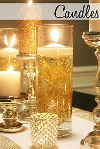 25 best ideas about gold centerpieces on pinterest gold With kitchen colors with white cabinets with cheap candle holders for centerpieces