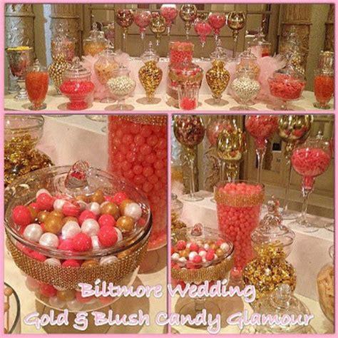 pink gold ivory blush glam sweetly chic wedding