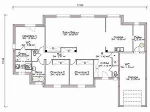 25 best plain pied ideas on pinterest plan maison plein With plan maison 170 m2 plain pied