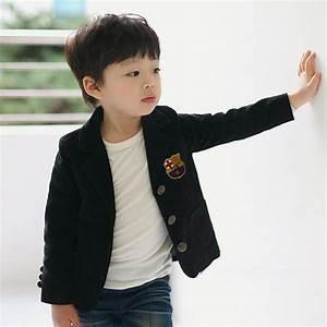 2014 Korean Brand spring boy child flag badge preppy style ...