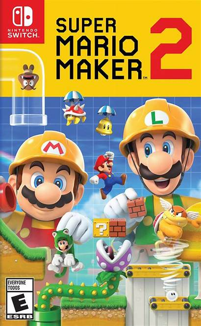 Mario Maker Switch Nintendo Games Update Nsp