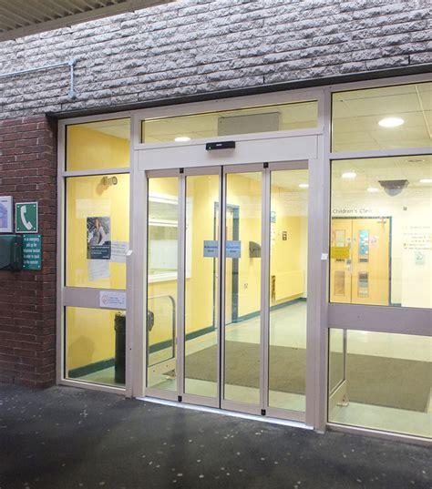 gilgen door systems gilgen door systems open doors at rotherham hospital
