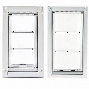 endura flap pet door medium wall mount single flap 8 With wall mounted dog doors best one