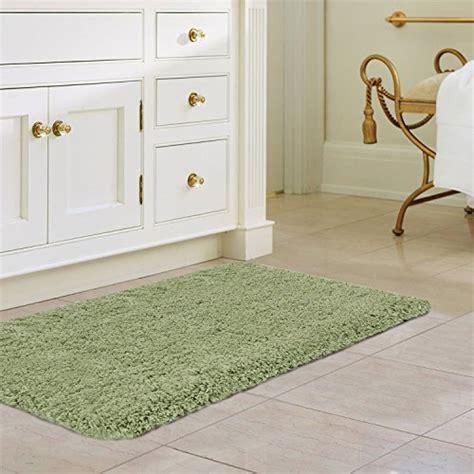 norcho tapis de bain luxe soft microfibre eau absorbant antiderapant caoutchouc antibacterien
