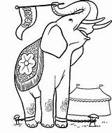 Elephants Coloring sketch template