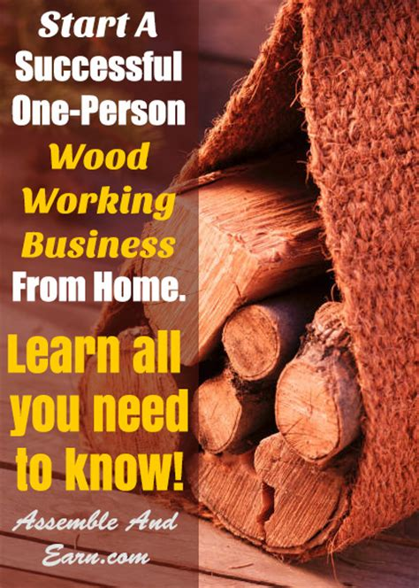 start  woodworking business  home