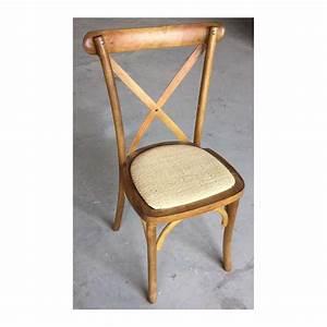 Chaise En Bois : chaise de bistrot en bois location de meubles ~ Melissatoandfro.com Idées de Décoration